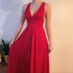 Movie Star Red Dress